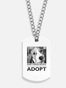 Adopt Puppy Dog Tags
