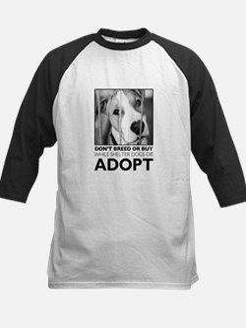 Adopt Puppy Baseball Jersey