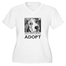 Adopt Puppy Plus Size T-Shirt