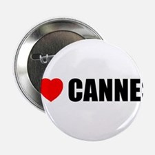 I Love Cannes, France Button