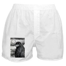 Bird 64 Crow Raven Boxer Shorts