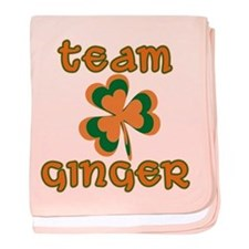 TEAM GINGER baby blanket