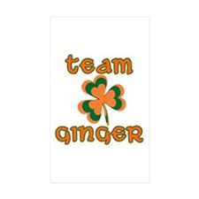 TEAM GINGER Decal