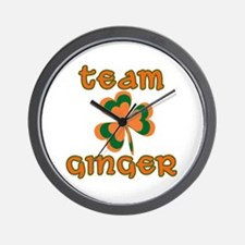 TEAM GINGER Wall Clock