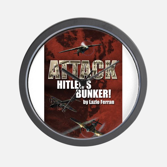 Attack Hitlers Bunker! Wall Clock
