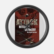 Attack Hitlers Bunker! Large Wall Clock