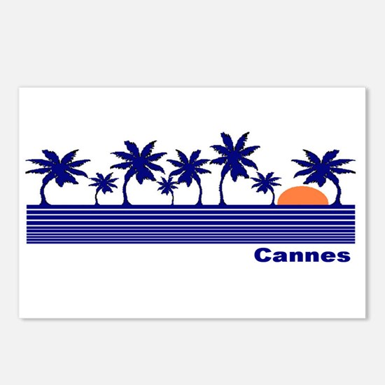 Cannes, France Postcards (Package of 8)