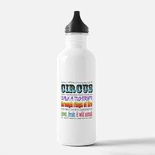 Circus Water Bottle