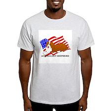 Australian Shepherd Dog USA T-Shirt