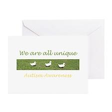 ducks Greeting Cards (Pk of 10)