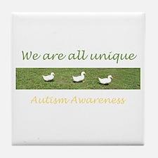 ducks Tile Coaster