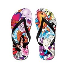 Tattoo Art Flip Flops