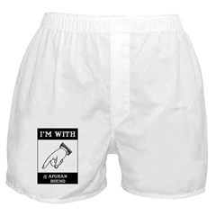 With the Afghan Boxer Shorts