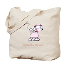 Poodle Mom Tote Bag