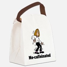 mecaffeinated Canvas Lunch Bag