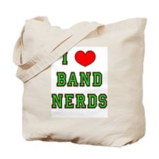 I Heart Band Nerds Tote Bag