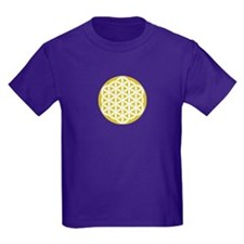 Flower of Life Gold T