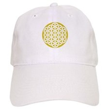Flower of Life Gold Baseball Cap