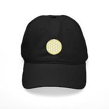 Flower of Life Gold Baseball Hat