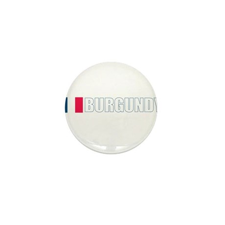 Burgundy, France Mini Button (100 pack)