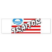 Traitor: Barack Obama! Bumper Bumper Sticker