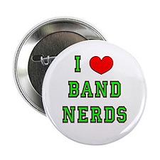 I Heart Band Nerds Button
