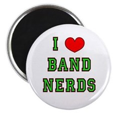 I Heart Band Nerds Magnet