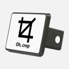 Oh, crop Hitch Cover