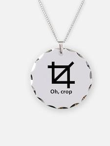 Oh, crop Necklace