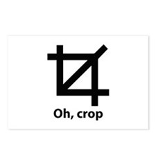 Oh, crop Postcards (Package of 8)