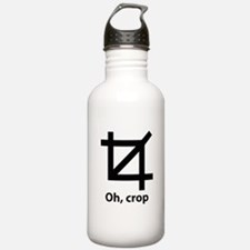 Oh, crop Water Bottle