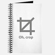 Oh, crop Journal