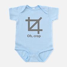 Oh, crop Infant Bodysuit