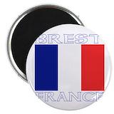Brest france Magnets