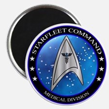 Starfleet Command Medical Division Crest Magnet
