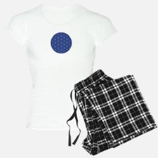 Flower of Life Blue Silver Pajamas