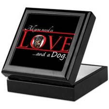 Love a Rottie Keepsake Box