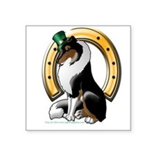 Irish Rough Collie TriColor Sticker