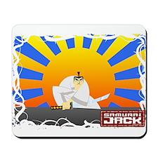 Samurai Jack Crouch Mousepad