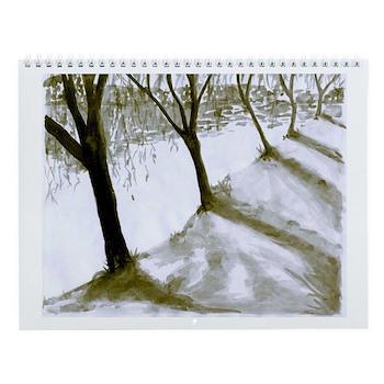 ODD MAN OUT: Artist J.M. Wall Calendar