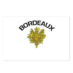 Bordeaux, France Postcards (Package of 8)