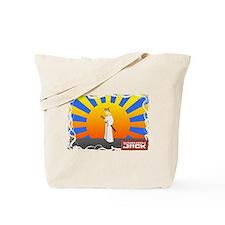 Samurai Jack Standing Tote Bag