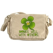 Drinks Well with Others Messenger Bag