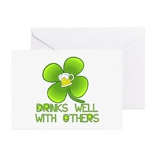 Drinks Well with Others Greeting Cards (Pk of 10)
