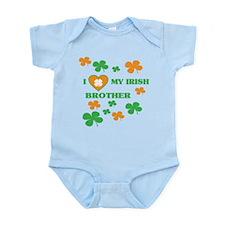 I Love My Irish Brother Body Suit