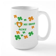 I Love My Irish Aunt Mugs