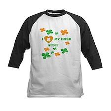 I Love My Irish Aunt Baseball Jersey