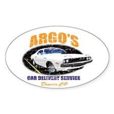 Argo's Car Delivery Decal