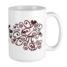 Whimsy Math Pi Mug