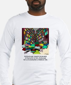 Philosophy Texts Are Dangerous Long Sleeve T-Shirt